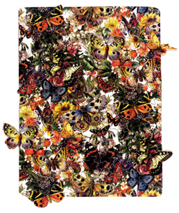 Fool's Gold wooden jigsaw puzzle Bountiful Butterflies