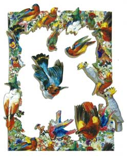 Fool's Gold wooden jigsaw puzzle baffling birds