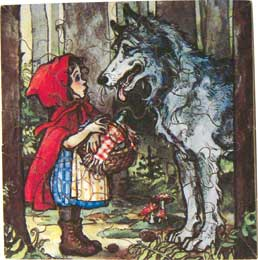 Little Red Riding Hood Scene 2