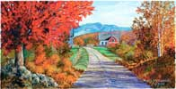 Leaf Peeping wooden jigsaw puzzle