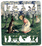 Fool's Gold wooden jigsaw puzzle Bunnies About