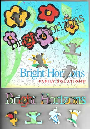 wooden jigsaw puzzle Bright Horizons