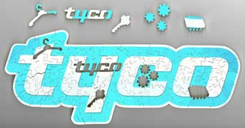 wooden jigsaw puzzle Tyco