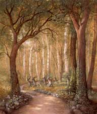 Deer in the Forest wooden jigsaw puzzle
