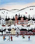 Wolfeboro Winter wooden jigsaw puzzle