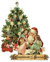 Compliments of the Season wooden jigsaw puzzle