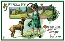St. Patrick's Day wooden jigsaw puzzle